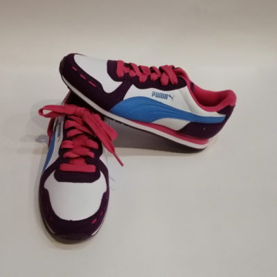 PUMA GRAPE WHITE MARINA BLUE