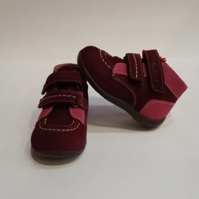 KICKERS BONKRO BORDEAUX ROSE