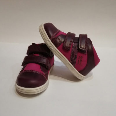 KICKERS TRALA  VIOLET ROSE