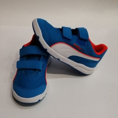 PUMA ATOMIC BLUE WHITE RED BLAST