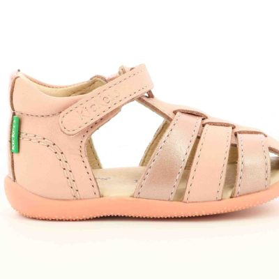 KICKERS BIGFLO ROSE METAL